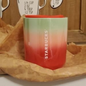 NWT Starbucks Pearl Ombre Ceramic Tumbler